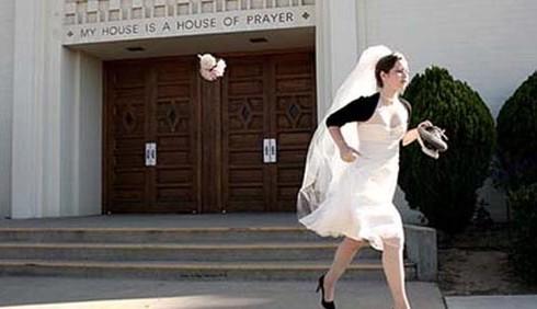Scappare a pochi giorni dal matrimonio
