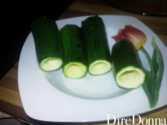 Zucchine incise
