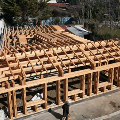 Le case in paglia la prima a roma diredonna for Piani di casa di balle di paglia di struttura in legno