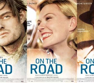 """On The Road"": Sam Riley in locandina"