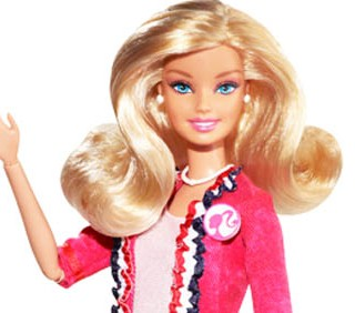 Una Barbie alla Casa Bianca