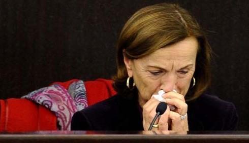 Elsa Fornero stanca delle polemiche alla sua riforma