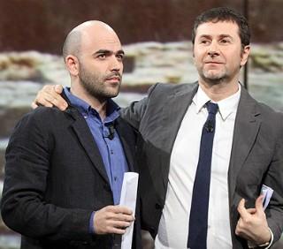 """Fabio Fazio e Roberto Saviano su La7 con """"Quello che (non) ho"""""""