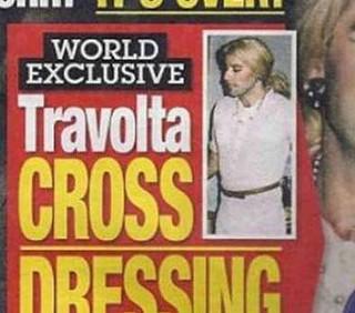 John Travolta vestito da donna, presto il divorzio
