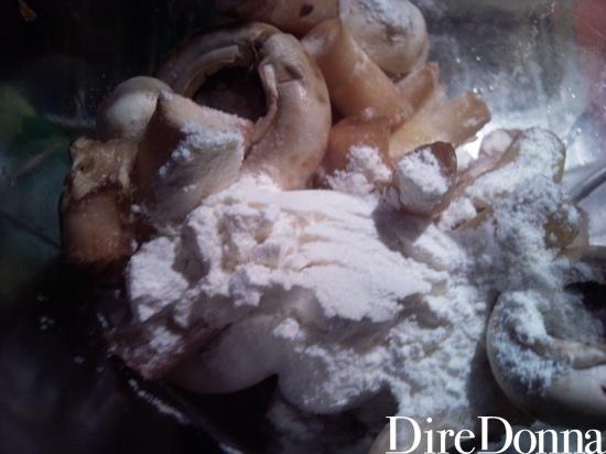 Funghi con farina