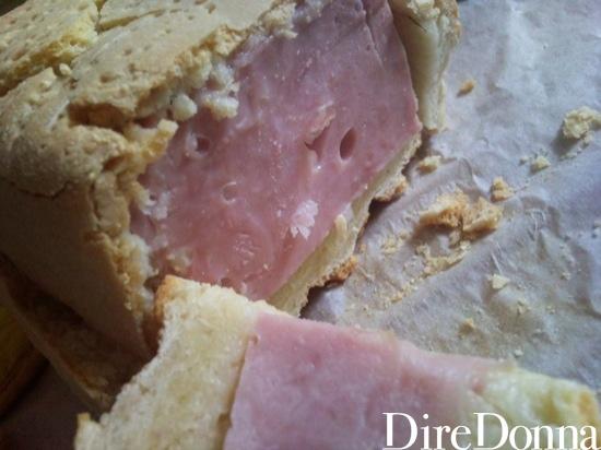 Prosciutto in crosta
