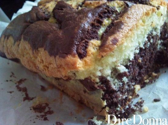 Cake fuori dal forno