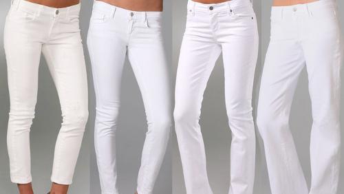 negozio online 5c591 c0efa Jeans bianchi: come sceglierli | DireDonna