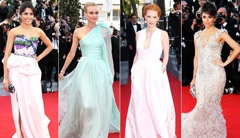 Festival di Cannes: gli abiti del red carpet