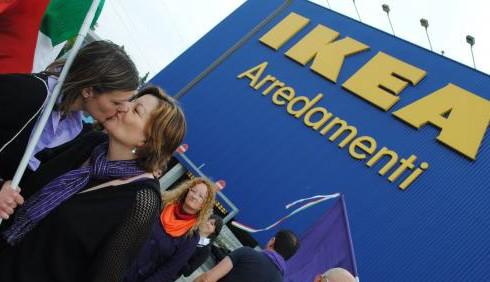 Ikea: welfare aziendale esteso alle coppie gay