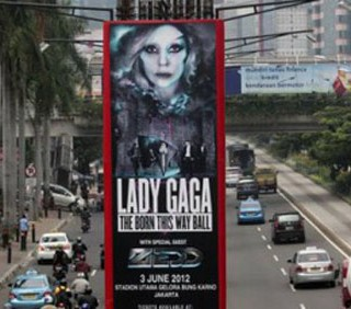 Lady Gaga, concerti vietati in Indonesia