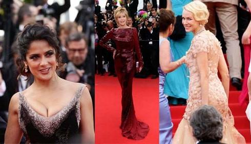Festival di Cannes: gli abiti del red carpet, terzo giorno