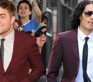 Russell Brand: Robert Pattinson usa il bagno delle signore