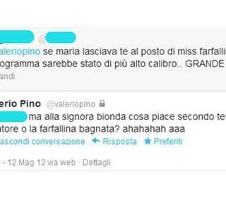 Valerio Pino insiste: Maria De Filippi è lesbica