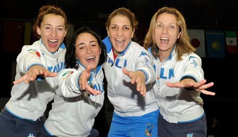 Fioretto: tre atlete azzurre protagoniste a San Pietroburgo