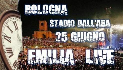 Emilia Live senza Vasco Rossi