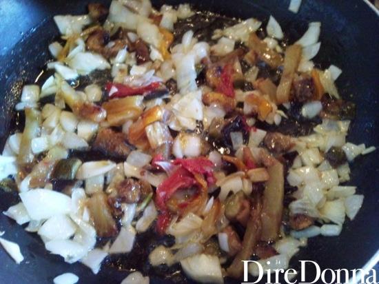 Cipolla aglio e peperoni