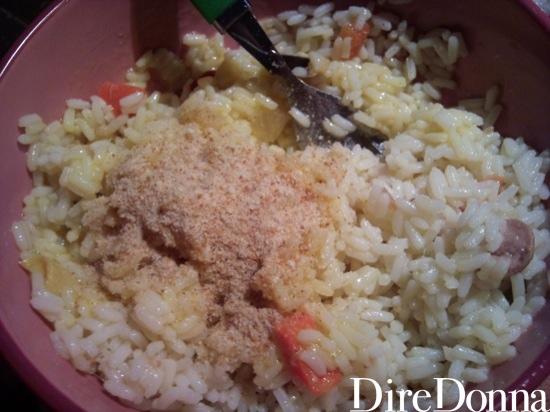 Insalata di riso con pangrattato
