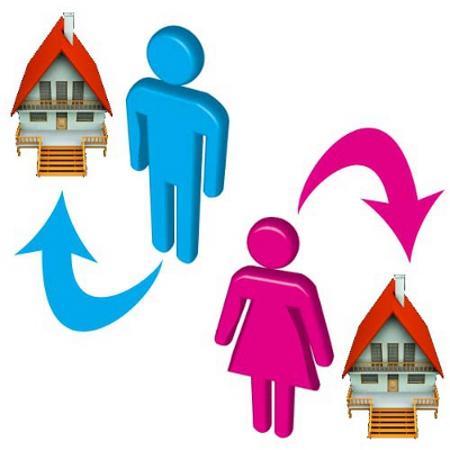 Imu per coniugi separati con residenze diverse diredonna for Case con alloggi separati
