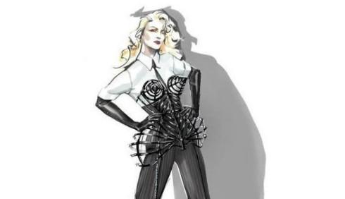 Jean Paul Gaultier e Madonna: nuovo connubio per il tour