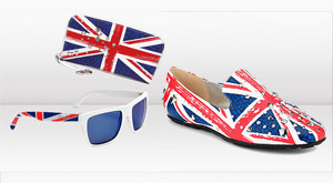 Jimmy Choo: capsule collection Union Jack