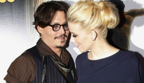 Johnny Depp e Amber Heard nuova coppia