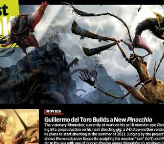 Pinocchio di Guillermo del Toro, nuovi concept