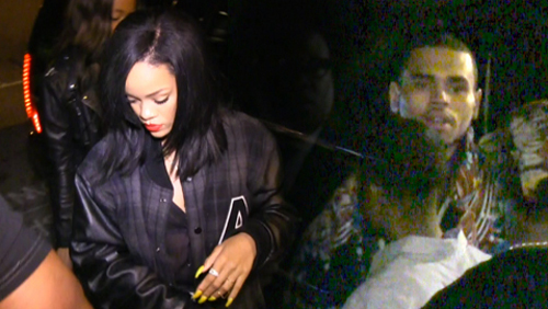 Rihanna e Chris Brown insieme per club