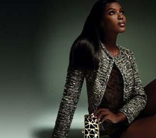 Pinko: Naomi Campbell ancora testimonial della nuova collezione
