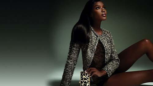 Pinko  Naomi Campbell testimonial della nuova collezione  fcd268aa76b