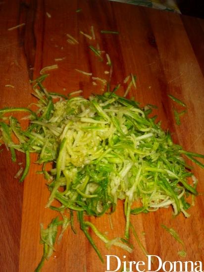 Zucchine a listarelle