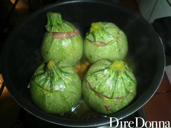 Zucchine in tegame