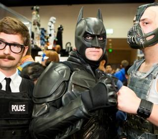 Il Cavaliere Oscuro, Il Ritorno: spopola il cosplay al Comic Con