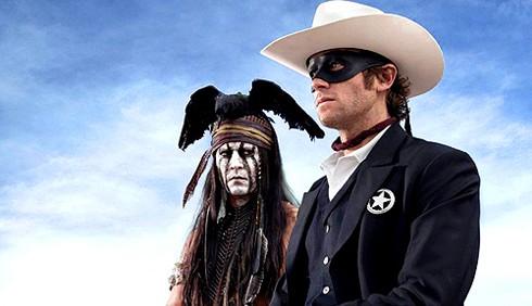 The Lone Ranger: primi spezzoni al Comic Con