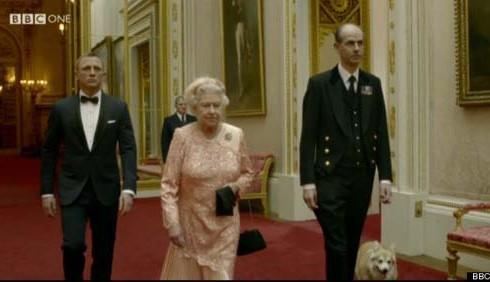 Daniel Craig e 007 sbarcano a Londra 2012