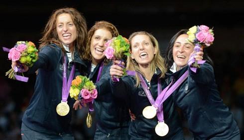 Olimpiadi 2012: oro per le donne del fioretto