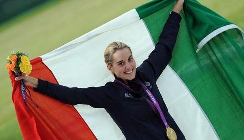 Londra 2012: Jessica Rossi e il quinto oro azzurro