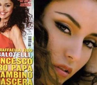 Raffaella Fico non è incinta di Mario Balotelli?