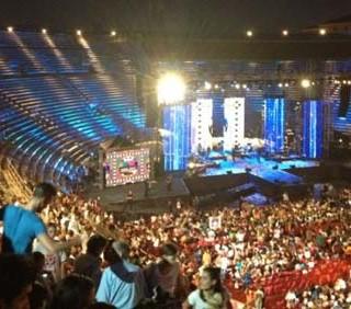 Emma Marrone e Alessandra Amoroso, il concerto all'Arena di Verona
