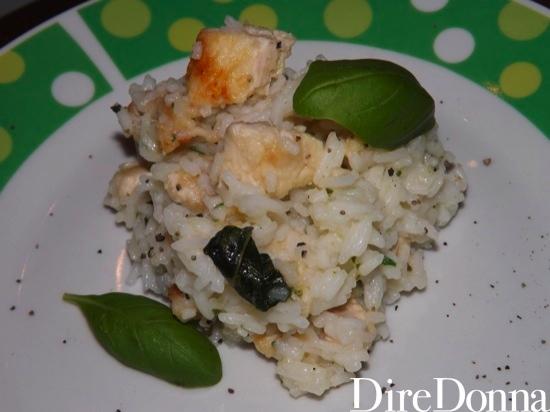 Ricetta riso con pollo