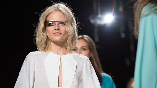 Google Glasses: debutto alla New York Fashion Week