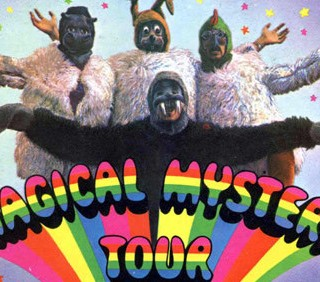 Il Magical Mystery Tour dei Beatles torna al cinema
