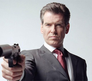 Pierce Brosnan ricorda James Bond a Venezia