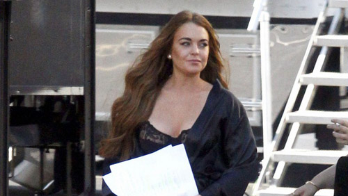 Lindsay Lohan, foto di Scary Movie 5