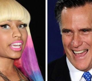 Nicki Minaj supporta Mitt Romney contro Barack Obama