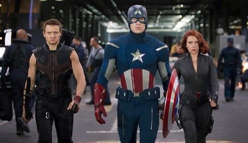The Avengers, foto inedite
