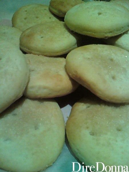 Biscotti di zucchero pronti