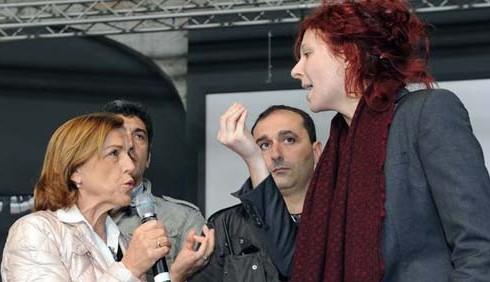 Donne senza lavoro e dignità: Elsa Fornero contestata a Torino
