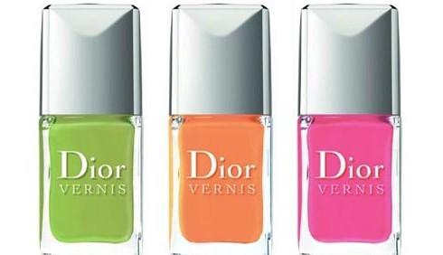 Dior sceglie colori sgargianti per gli smalti 2013
