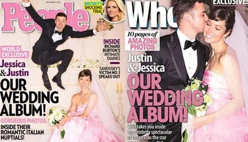 Justin Timberlake e Jessica Biel, video di cattivo gusto alle nozze